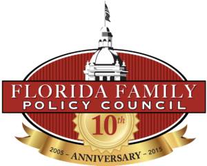 logo, ffpc logo, florida family policy council, 10th anniversary, logo, contact us, accomplishments, blog, endorsements, speaker request