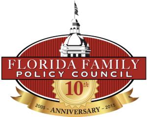 logo, ffpc logo, florida family policy council, 10th anniversary, logo, contact us, accomplishments, blog, endorsements, speaker request