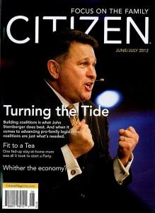 Citizen Magazine cover June/July 2012 - John Stemberger