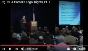 stemberger, pastors legal rights, legal, rights, pastors rights