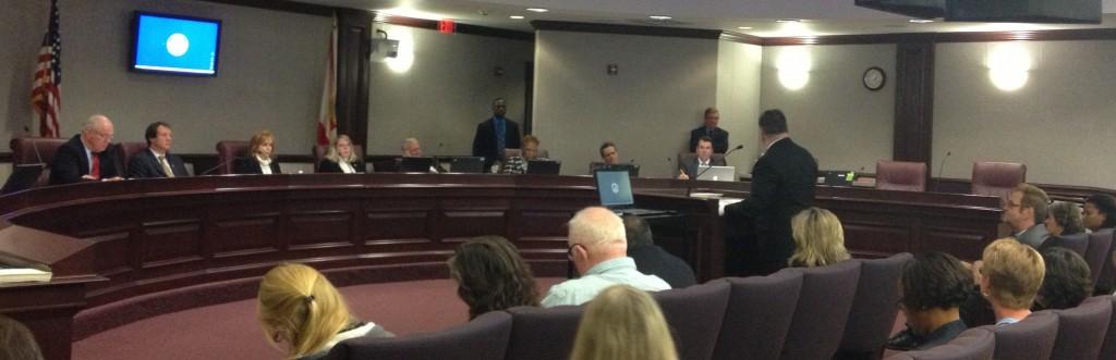 John Stemberger speaking to Senate Committee