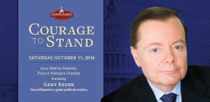 courage to stand, annual dinner, gary baur