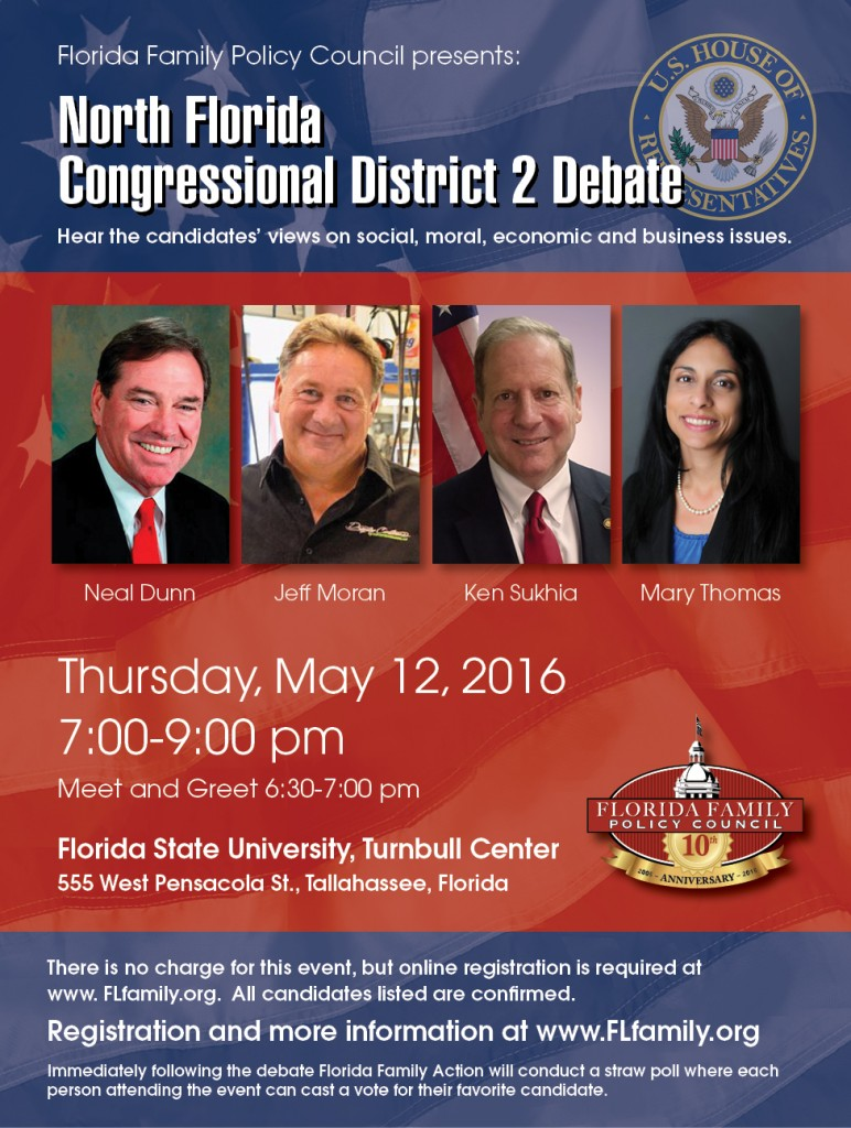 No Fl Congressional Debate 2016