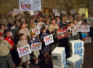 onmyhonor.net, boyscouts, press conference, trail life usa, history, stemberger, boyscouts convention, grapevine texas, tx, grapevine tx