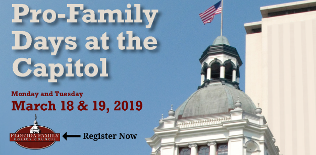 Register now Pro-Family Days